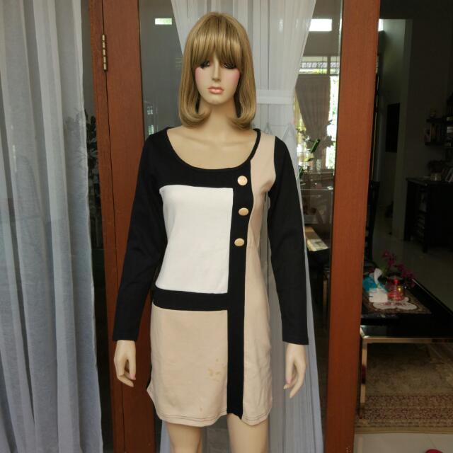 Semi Dress Bisa Jadi Atasan
