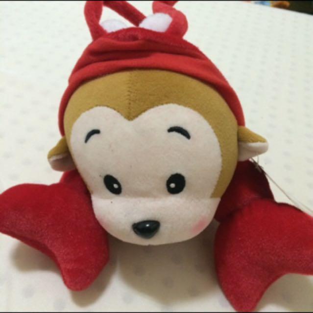 現貨供應🎈Sit down please龍蝦 猴子娃娃