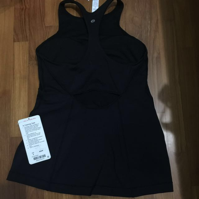 Size6 in training tank lululemon BNWT