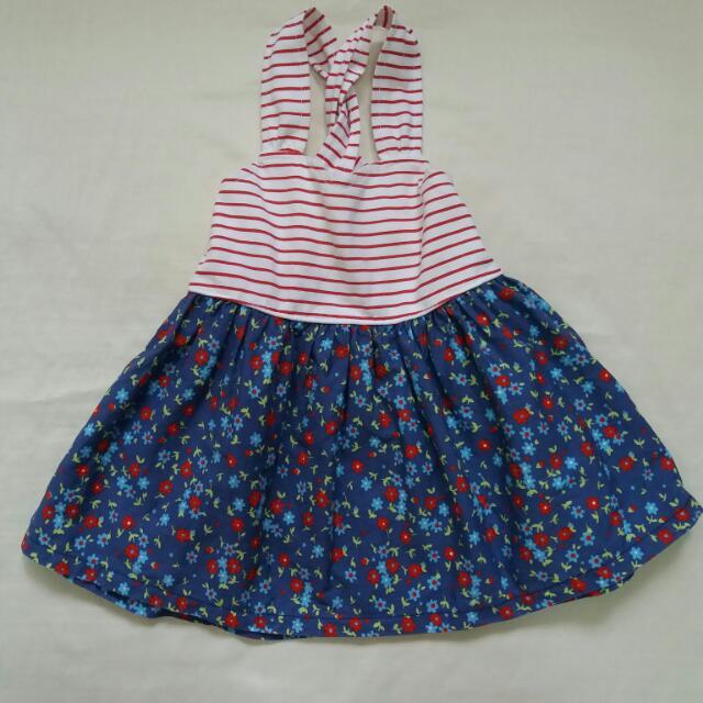 SM Brand Red flowery Dress