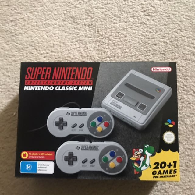 Snes mini - Super Nintendo mini