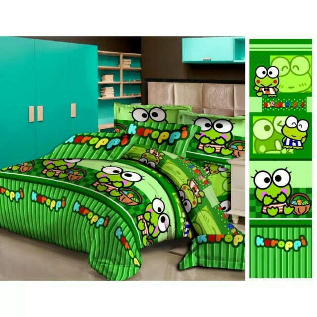 Sprei single keropi