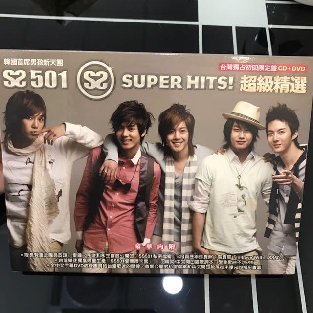 SS501 超級精選 台壓專輯
