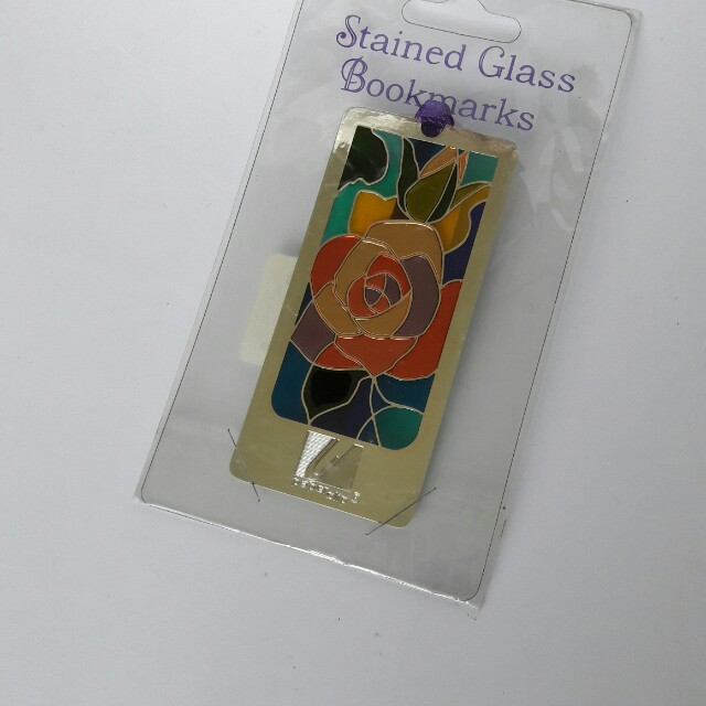 Stained glass bookmark from Singapore