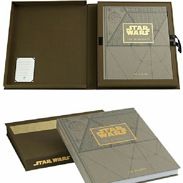 Star wars the blueprint limited edition books stationery photo photo malvernweather Image collections