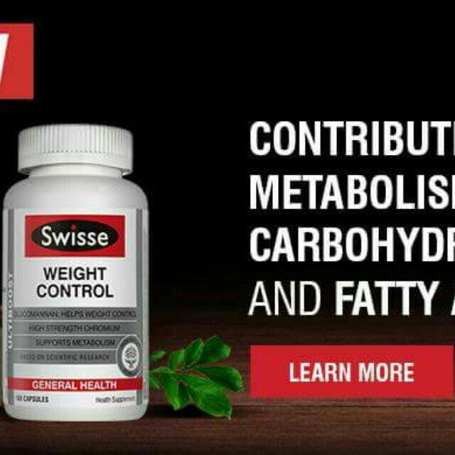 Swisse Ultiplus Weight Control Tablets On Carousell