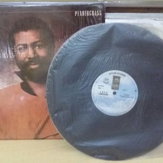 Teddy Pendercrass vinyl