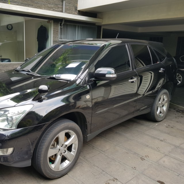 Toyota Harrier 2008  240 L-prem spec Hitam Low KM