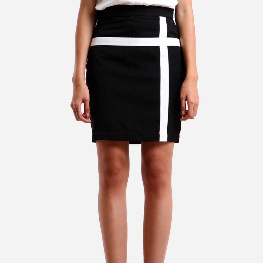 Two Tone Skirt S, L