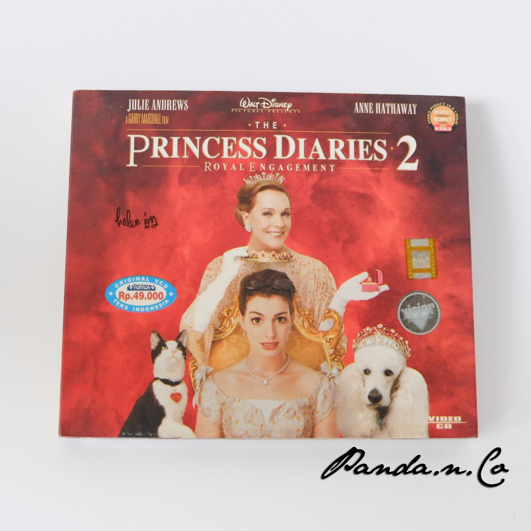 VCD Film  The Princess Diaries 2 - Royal Engagement