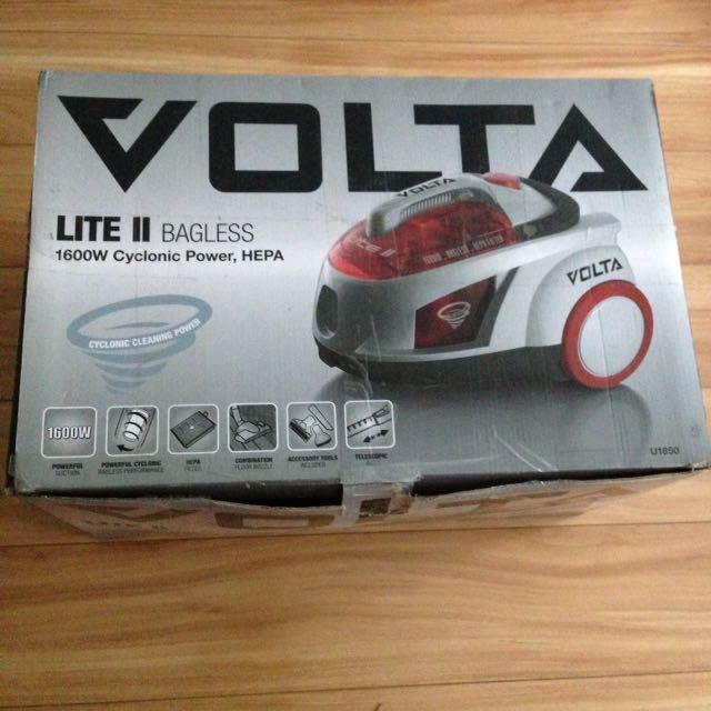 VOLTA Lite II - Bagless Vacuum Cleaner (1600W Cyclonic Power)