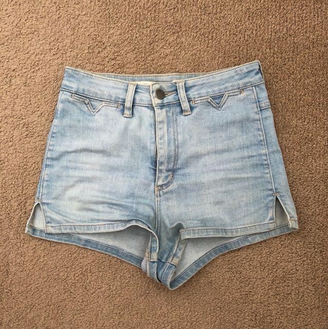 Wrangler shorts - high waisted