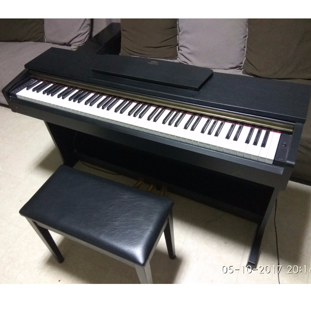 yamaha arius ydp 161 pre loved digital piano bench. Black Bedroom Furniture Sets. Home Design Ideas