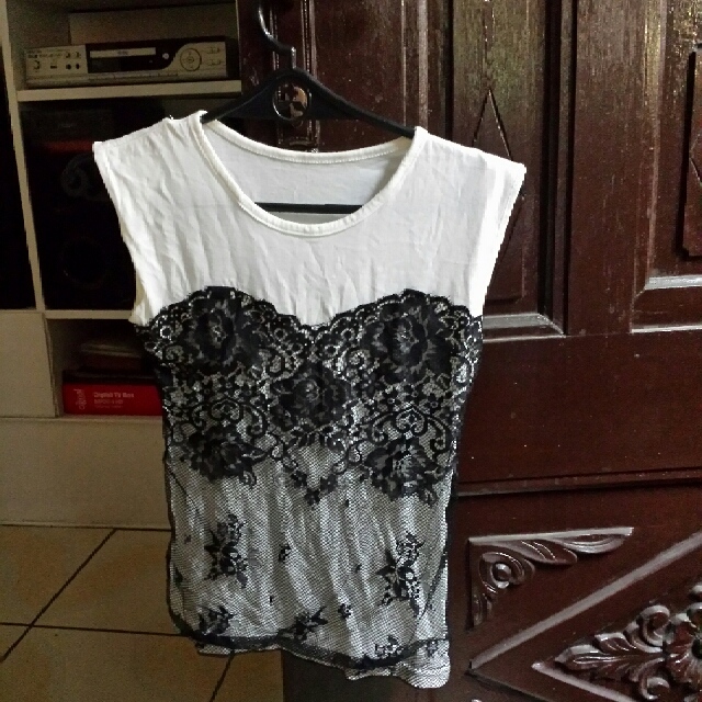 Zara inspired Lace top