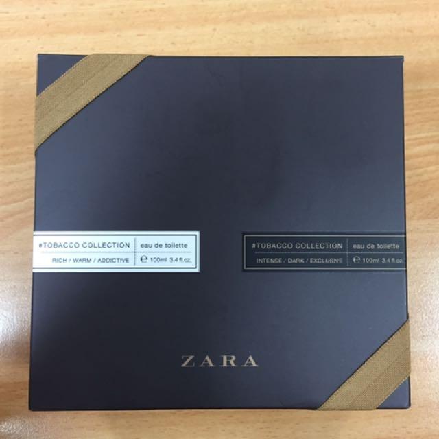 Zara Tobacco Edition (2 Bottle Masih Segel)