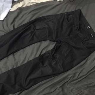 H&M Slim Fit black Chinos