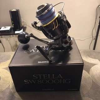 Shimano Stella 8000 HG