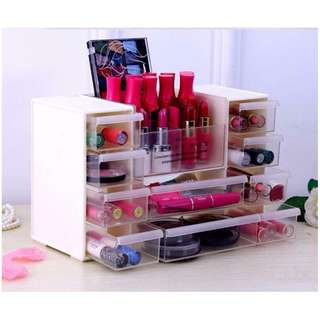 Japanese cosmetic office plastic storage box