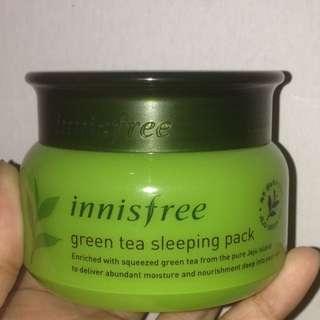 Innisfree Greentea Sleeping Pack