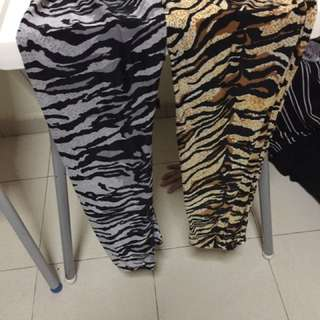 Clearance tiger leggings