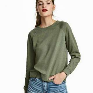 H&M Sweatshirt Army