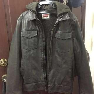 Original LeVI'S leather jacket ⚫️