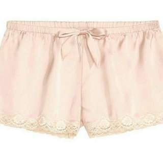 H&M Short Pajamas Peach Lace