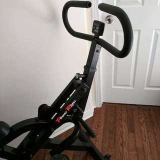 Good Condition Exercise Bike with Dumb Bell