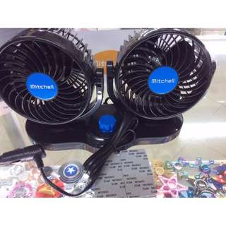 Mitchell HX-T303 Double-Headed Vehicle Fan