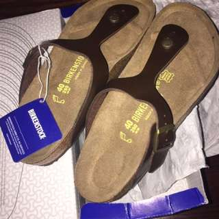 Birkenstock Gizeh Brown Toffee Size 40