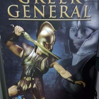 FURTHER PRICE REDUCED TO CLEAR! To 200BNIB Greek general Achilles . Open for inspection only.no low ballers