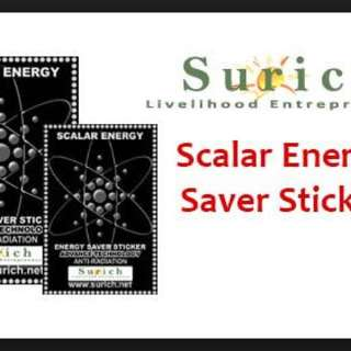 Surich Scalar Energy Sticker