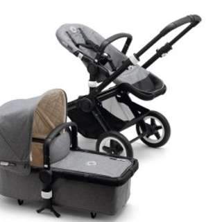 Bugaboo Buffalo Classic + Collection Complete - Grey Melange