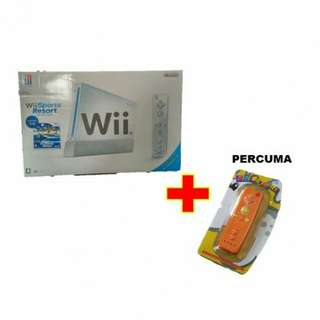 Nintendo Wii Console + Remote + Accessory + 250 GB HDD + 100++ Modified Free Games (New)