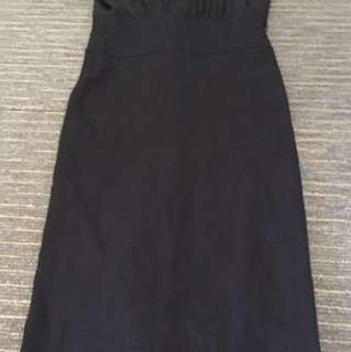 Review 12 black chiffon dress