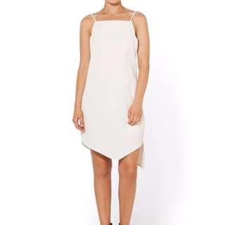 Sportsgirl Asymmetrical Hem Dress (Size 12)
