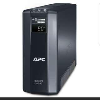 Wts  ApC BR 900G1 Power Saving Backup Pro..brand new