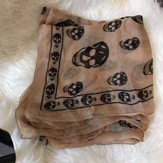 Alexander McQueen silk scarf brand new