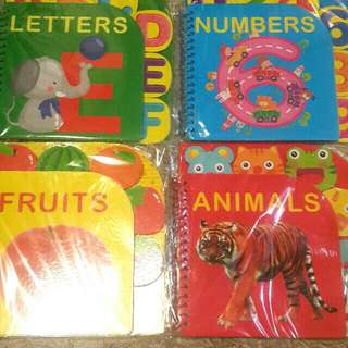 ABC Books Bundle of 4 (80 each)