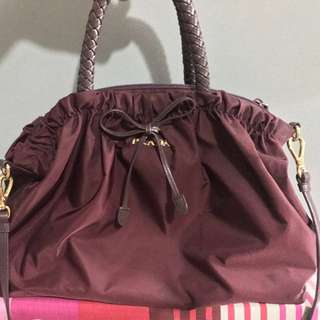 PRADA BN1845 - Tessuto Bordeaux 100% Authentic! REPRICED!