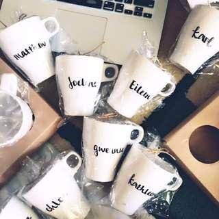 Customised / Personalised Name Mugs V.1