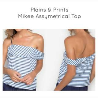 Plains & Prints Mikee Asymmetrical Top