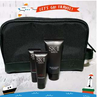 🚚 SK-II MEN 旅行組 (修護霜x2+潔面乳) #含運最划算