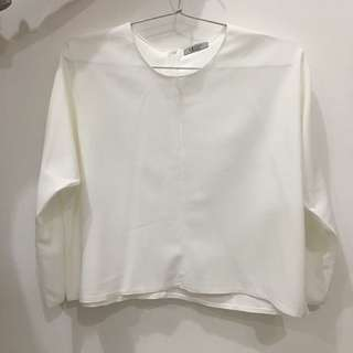 White long sleeves