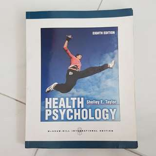 Health Psychology by Shelley E.Taylor