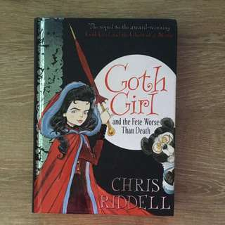 BN - (hardback) Goth girl and the fete worse than death