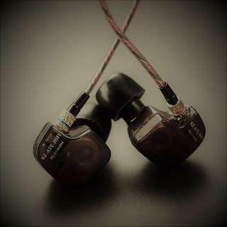 FLASH SALE 10%OFF! [BNIB] Knowledge Zenith KZ ATE S HiFi In Ear Monitors Preorder