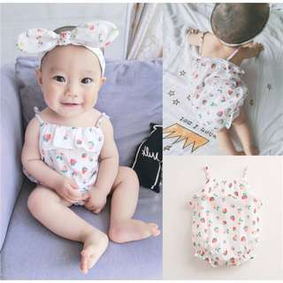 Baby Girl's Clothing (66cm) - 1 Piece + 1 Hair band