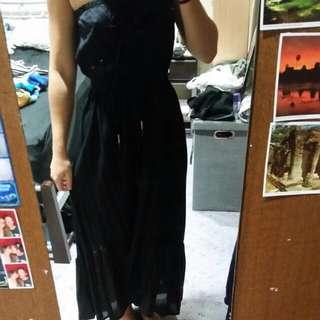Roxy Black Beach Dress