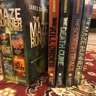 (PRICE REDUCED) THE MAZE RUNNER SERIES !!